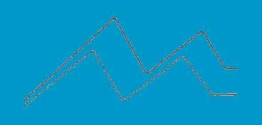 DECOART AMERICANA ACRÍLICO MATE AZUL TURQUESA - TURQUOISE BLUE - DA268