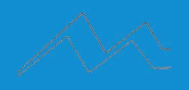 DECOART AMERICANA ACRÍLICO MATE AZUL OCÉANO - OCEAN BLUE - DA270