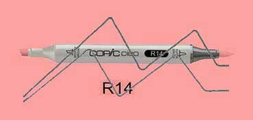COPIC CIAO ROTULADOR LIGHT ROUSE R14