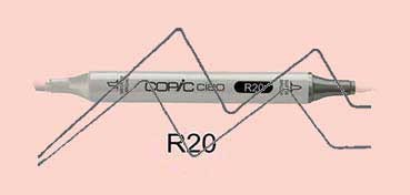 COPIC CIAO ROTULADOR BLUSH R20