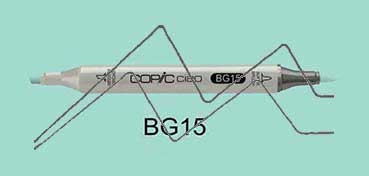 COPIC CIAO ROTULADOR AQUA BG15