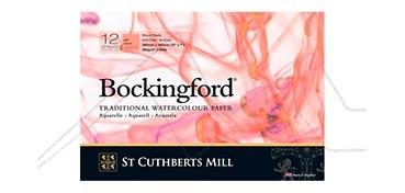 BOCKINGFORD BLOCK 300 G 12 HOJAS ENCOLADO A 1 LADO GRANO SATINADO
