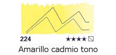 AKADEMIE MEDIO GODET 224 TONO AMARILLO DE CADMIO CLARO