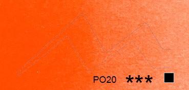 SCHMINCKE HORADAM TUBO DE ACUARELA ARTIST ROJO NARANJA DE CADMIO SERIE 3 Nº 348