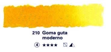 SCHMINCKE HORADAM ACUARELA ARTIST GODET COMPLETO GOMA GUTA MODERNO SERIE 4 Nº 210