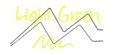 KURETAKE ZIG WINK OF STELLA GLITTER PEN - ROTULADOR PERLADO - LIGHT GREEN Nº 041