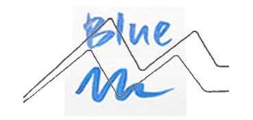 KURETAKE ZIG WINK OF STELLA GLITTER PEN - ROTULADOR PERLADO - BLUE Nº 030
