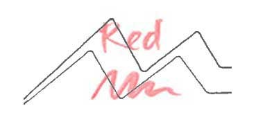 KURETAKE ZIG WINK OF STELLA GLITTER PEN - ROTULADOR PERLADO - RED Nº 020