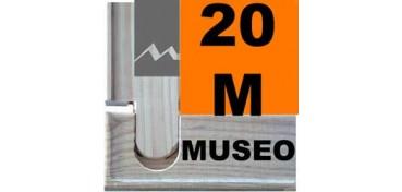 BASTIDOR MUSEO (ANCHO DE LISTÓN 60 X 22) 73 X 50 20M