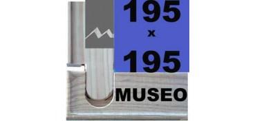 BASTIDOR MUSEO (ANCHO DE LISTÓN 60 X 22) 195 X 195
