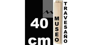 TRAVESAÑO MUSEO (60 X 22) - 40 CM