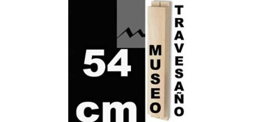 TRAVESAÑO MUSEO (60 X 22) - 54 CM