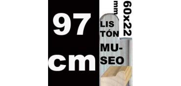 LISTÓN MUSEO (60 X 22) - 97 CM
