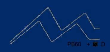 VALLEJO ACRYLIC ARTIST FLUID COLORS AZUL ANTRAQUINONA - ANTHRAQUINONE BLUE SERIE 800 Nº 823