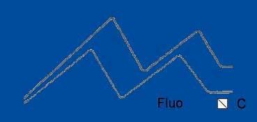 VALLEJO ACRYLIC ARTIST FLUID COLORS AZUL FLUORESCENTE - FLUORESCENT BLUE SERIE 600 Nº 622