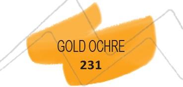 TALENS ECOLINE BRUSH PEN - ROTULADOR DE ACUARELA LÍQUIDA - OCRE ORO Nº 231