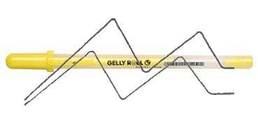 SAKURA GELLY ROLL MOONLIGHT BOLÍGRAFO DE GEL BRILLO EN LA OSCURIDAD AMARILLO FLUORESCENTE - FLUO YELLOW - Nº 403