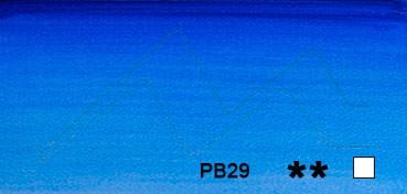 WINSOR & NEWTON ACUARELA ARTISTS ULTRAMAR SOMBRA VERDE (ULTRAMARINE GREEN SHADE) SERIE 1 Nº 667