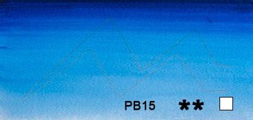 WINSOR & NEWTON ACUARELA ARTISTS AZUL WINSOR SOMBRA ROJA (WINSOR BLUE RED SHADE) SERIE 1 Nº 709
