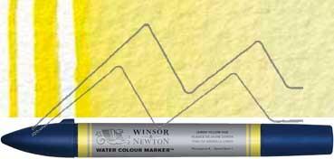 WINSOR & NEWTON ROTULADOR ACUARELA TONO AMARILLO LIMÓN - SERIE 1 - Nº 346