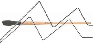 PRINCETON CATALYST PINCEL HOJA DE SILICONA FORMA 1 GRIS 15 MM (15X30MM)