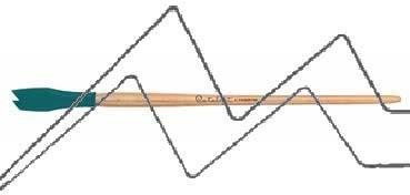 PRINCETON CATALYST PINCEL HOJA DE SILICONA FORMA 2 AZUL 15 MM (15X30MM)