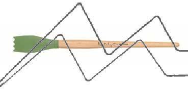 PRINCETON CATALYST PINCEL HOJA DE SILICONA FORMA 3 VERDE 30 MM (30X44MM)
