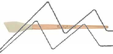 PRINCETON CATALYST PINCEL HOJA DE SILICONA FORMA 6 BLANCO 30 MM (30X44MM)