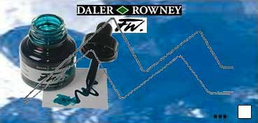 DALER ROWNEY TINTA ACRÍLICA LÍQUIDA FW ARTIST AZUL ROWNEY (ROWNEY BLUE) Nº 119