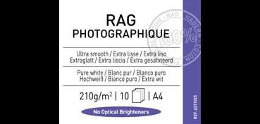 CANSON INFINITY RAG PHOTOGRAPH 210G 100% ALGODÓN