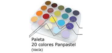 PANPASTEL BANDEJA PLÁSTICO VACÍA CON CAPACIDAD PARA 20 UNIDADES
