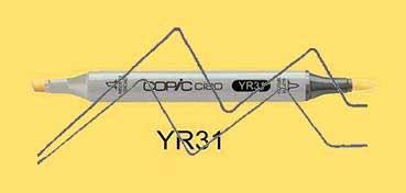 COPIC CIAO ROTULADOR LIGHT REDDISH YELLO YR31