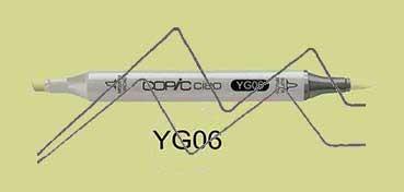 COPIC CIAO ROTULADOR YELLOWISH GREEN YG06