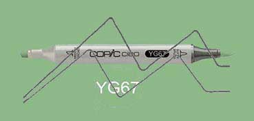 COPIC CIAO ROTULADOR MOSS YG67