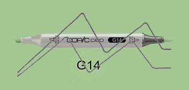 COPIC CIAO ROTULADOR APPLE GREEN G14