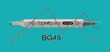 COPIC CIAO ROTULADOR DUCK BLUE BG49