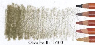DERWENT DRAWING LÁPIZ DE DIBUJO OLIVE EARTH 5160