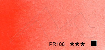 SCHMINCKE HORADAM TUBO DE ACUARELA ARTIST ROJO DE CADMIO CLARO SERIE 3 Nº 349