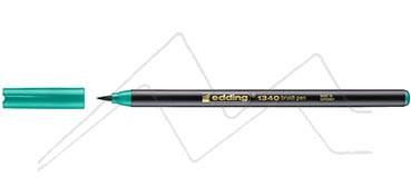 EDDING 1340 ROTULADOR PUNTA DE PINCEL - VERDE