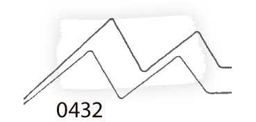 LIQUITEX PAINT MARKER ANCHO BLANCO DE TITANIO Nº 0432