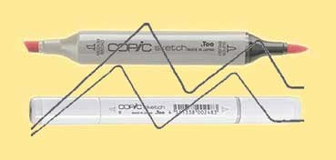 COPIC SKETCH CANARY YELLOW Y02