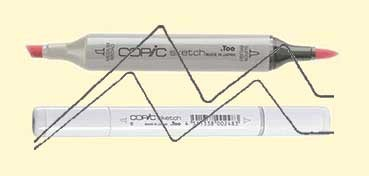 COPIC SKETCH PALE YELLOW Y11