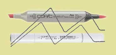COPIC SKETCH CHARTREUSE YG13