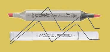 COPIC SKETCH PALE OLIVE YG95