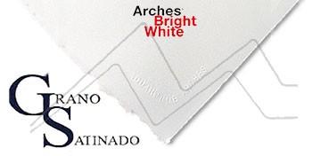 ARCHES PAPEL DE ACUARELA BLANCO BRILLANTE 640 G GRANO SATINADO