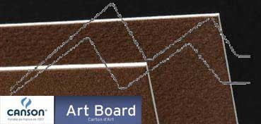 CANSON ART BOARD MI-TEINTES TOUCH 1,2 MM - TABACO (Nº 501)
