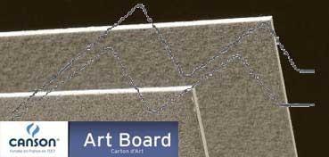 CANSON ART BOARD MI-TEINTES TOUCH 1,2 MM - GRIS ACERO (Nº 431)