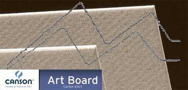 CANSON ART BOARD MI-TEINTES TOUCH 1,2 MM - GRIS FRANELA (Nº 122)