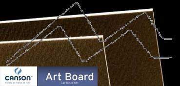 CANSON ART BOARD MI-TEINTES TOUCH 1,2 MM - GRIS PIZARRA (Nº 345)