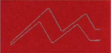 PASSE - PARTOUT ALMA CRUDA 1,2MM 60X80CM BORDEAUX